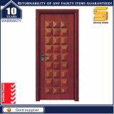 Porte en bois avant intérieure en bois solide de qualité