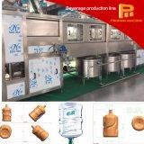 Os 5 galões automático recicl o tipo máquina de enchimento pura da água do frasco