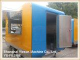 Ys-Fb390e omfloers de Aanhangwagen van het Roomijs van de Bestelwagens van Foodtruck van de Kar