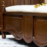 침실 가구 As819를 위한 미국식 단단한 나무 가죽 침대