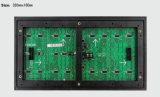 Module semi extérieur simple du blanc DEL du balayage P10 1/4 pour l'Afficheur LED d'intérieur de supports publicitaires de l'IMMERSION P10