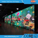 P10 visualizzazione di LED esterna di colore completo del TUFFO LED per fare pubblicità