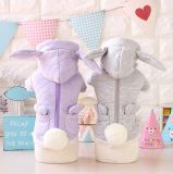 Produits pour animaux de compagnie Little Bunny Grid Cotton Pet Clothes Dog