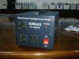 Sunkax 1600va 220V-110VAC reduce el convertidor del voltaje