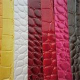 Cuoio durevole del PVC dello Synthetic per la fabbricazione della borsa