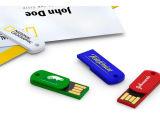 Unidade Flash USB mais barato/pen drive USB giratória com impressão do logótipo do OEM