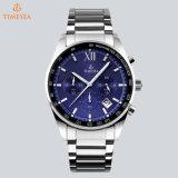 多機能のスイスの動きのスポーツの人の腕時計のステンレス鋼のアナログ時計72795