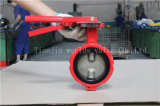 Válvula borboleta de tipo Wafer Demco com alavanca manual
