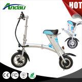 36V 250W plegable bicicleta eléctrica Vespa doblada