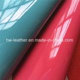 Cuero de la PU para la Synhtetic zapatos de las señoras del monedero de asas de Hx-B1710