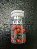 Soem-orange Grau, das Pillen mit Eigenmarke abnimmt