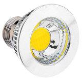 80 도가 6W E27 Dimmable LED 반점에 의하여 3 년 보장 점화한다