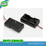 Батарея AA держателя батареи держателя батареи 18650 водоустойчивая