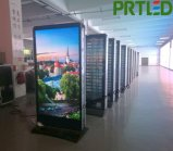 高い明るさ7000nitsのデジタル表記を広告する無線制御されたP5 LED