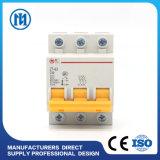 Stroomonderbreker van de Capaciteit 1p 2p 3p 4p DC/AC van M3 MCB van de stroomonderbreker de Standaard6ka Brekende in Liushi