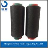 Ontwerp van het Garen 150d/48f Black+40d Spandex van de polyester DTY 3.20