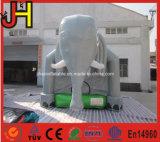Grosser Elefant-aufblasbarer Prahler-Elefant-federnd Haus