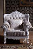 Sofà classico del tessuto 1+2+3 impostato per il salone