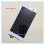 Le mobile manifeste l'affichage à cristaux liquides initial d'écran tactile de téléphone pour Sony Z5 4 3 2 1 affichage à cristaux liquides