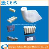 漂白された有機性綿の外科ガーゼの包帯
