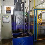 O bronze high-density lasca a máquina da imprensa de ladrilhagem