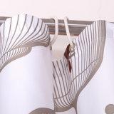 Tenda di acquazzone impermeabile stampata poliestere della stanza da bagno della muffa liberamente (01S0013)
