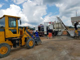 Pully Fabricación Capacidad de carga de 1.8 toneladas Cargador de rueda de la mini retroexcavadora (PL916)