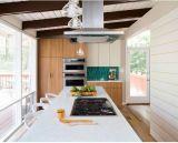 プロジェクト設計のかえでの木製の食器棚