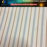 スーツまたは衣服(S104.107)のためのヤーンによって染められる袖のライニングの縞ポリエステルファブリック
