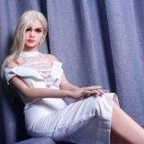 165cm junge preiswerte Silikon-Geschlechts-Puppe mit Fastfood- Fuss-reizvoller Puppe