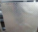 Plataforma de acero galvanizada que ralla con la placa del golpeador