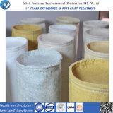 Bolsos de filtro materiales de filtración de acrílico del polvo, bolso de filtro de acrílico del polvo