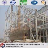 Edifício pré-fabricado da fábrica da construção de aço Q345 com certificação do ISO