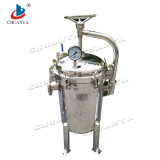 Edelstahl-Filtration-Geräten-industrieller multi Beutelfilter