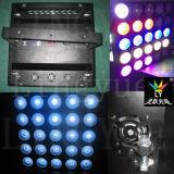 Iluminação do estágio do disco DMX do DJ da luz da matriz do diodo emissor de luz do RGB