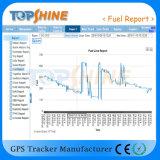 Plate-forme basée sur le WEB en ligne de logiciel de recherche de Topshine GPS (GPRS01) pour le management de flotte