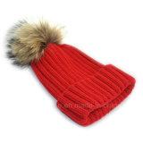 卸し売り高品質は帽子、編まれた帽子を肋骨で補強した