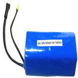 paquet rechargeable de batterie Li-ion de lithium de 36V 5000mAh 5A 18650