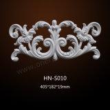 Ornamento decorativo cinzelado Hn-S010 do plutônio dos Appliques do poliuretano