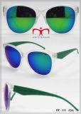 Óculos de sol plásticos novos com a lente colorida para unisex (WSP609683)