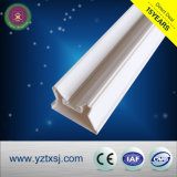 Materiale spaccato del PVC dell'alloggiamento del tubo di T8 LED