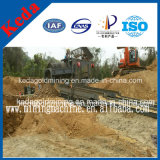 Traitement de l'or alluvial Trommel Gold Mining Equipment for Sale