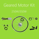 36V 250With350W小さい連動させられたブラシレス電気バイクDCモーター防水LCDシステムキット