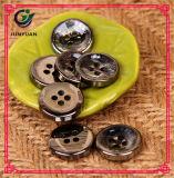 Bouton d'imitation UV de résine de chemise de bouton en métal de bonne qualité