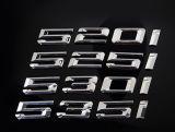 Emblema trasero del coche del tronco de la etiqueta de la insignia de Clk de la divisa del coche del cromo para el Benz de Mercedes
