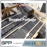 Mattonelle di pavimentazione nere poco costose cinesi dell'ardesia con superficie naturale