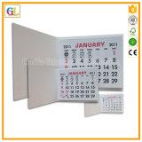 Calendario murale all'ingrosso su ordinazione di stampa in offset di alta qualità