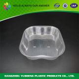Contenitore di plastica a gettare di fragola dell'animale domestico