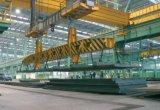 Поднимаясь электрический магнит для стальной плиты в сталелитейном заводе