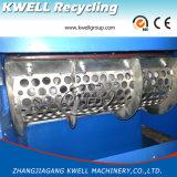 Shredder de recicl plástico Waste, máquina Shredding do único eixo para a película/saco/bloco/tubulação/protuberância/rolo